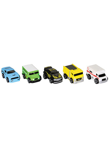 Nitro Micro Vehicles Series 2 5-Pack