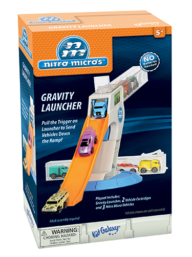 Nitro Micros Vehicles Gravity Launcher