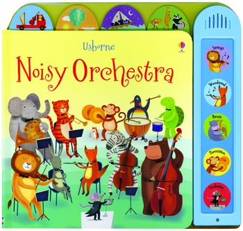 Noisy Orchestra Picture Book with Musical Sounds