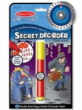 On the Go Secret Decoder Activity Game Book Kit
