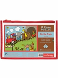 On the Train 12-Piece Pouch Puzzle