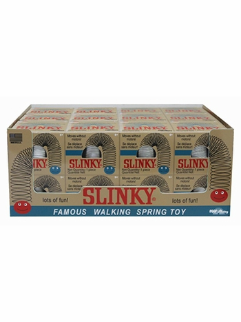 Original Metal Slinky in Collectible Retro Box