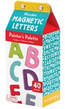Painter's Palette Wooden Magnetic Letters