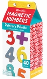 Painter's Palette Wooden Magnetic Numbers