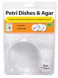 Petri Dishes with Agar