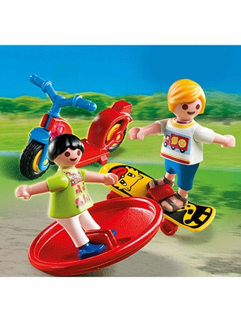 Playmobil 2 Kids with Toys 4764