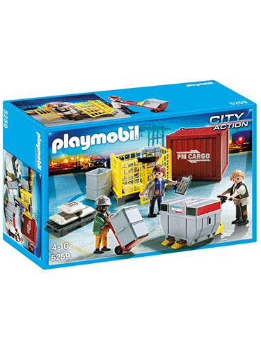Playmobil Cargo Loading Team 5259