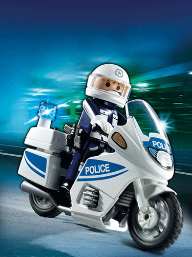 Playmobil Police Motorcycle 5185