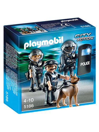 Playmobil Police Special Forces Unit 5186