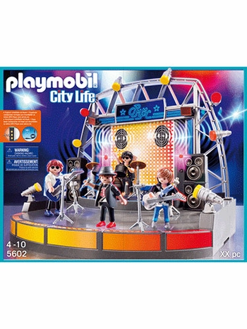Playmobil Pop Stars Stage 5602