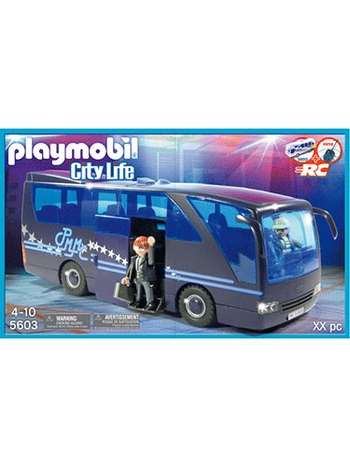 Playmobil Pop Stars Tour Bus 5603