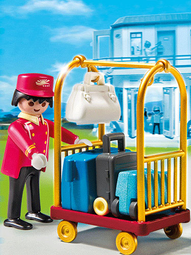 Playmobil Porter with Baggage Cart 5270