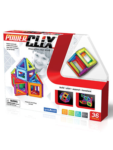 PowerClix 36-Piece Building System