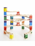 Quadrilla Loop de Loop Marble Run Building Set