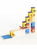 Quadrilla Music Motion Marble Run Building Set