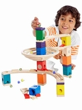 Quadrilla Roundabout Marble Run Building Set