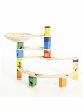 Quadrilla Whirlpool Marble Run Building Set