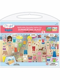 Re-stickable Stackable Fashion Fun Sticker Playset
