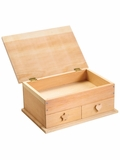 Red Toolbox Jewelry Case Woodworking Kit