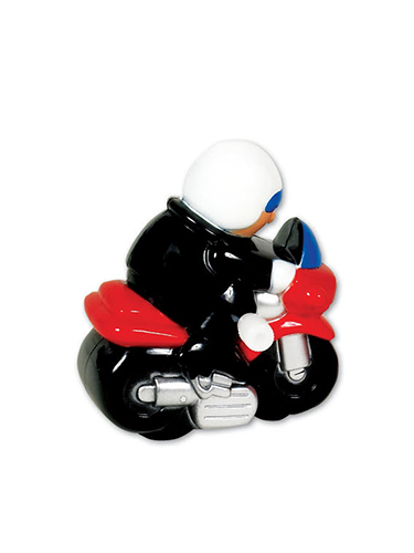 Ride 'N' Roll Motorcycle Wind-Up Toy
