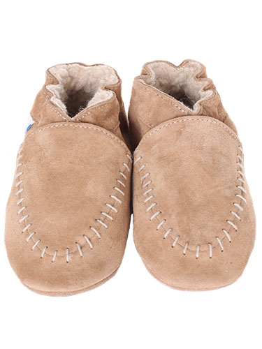Robeez Cozy Moccasin Soft Sole Shoes