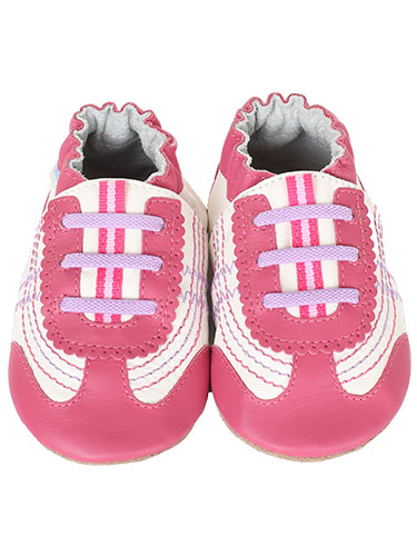 Robeez On the Run Soft Sole Leather Sneakers