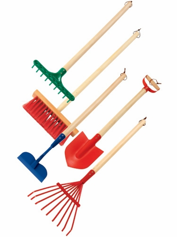 Creative Kidstuff Exclusive Kid's Garden Tool Bundle
