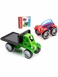 SmartMax Magnetic Discovery Rob & Ringo Vehicle Building Set
