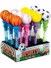 Sports Ball Pop Out Pen