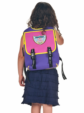 Super Me Bubblicious Cape Backpack