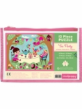 Tea Party 12-Piece Pouch Puzzle
