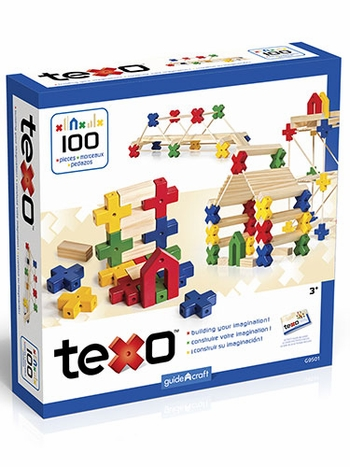 Texo 100-Piece Construction Set