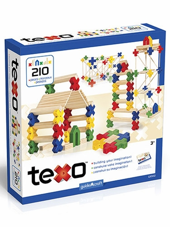 Texo 210-Piece Construction Set