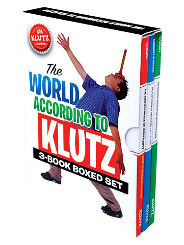 The World According to Klutz 3-Book Boxed Set