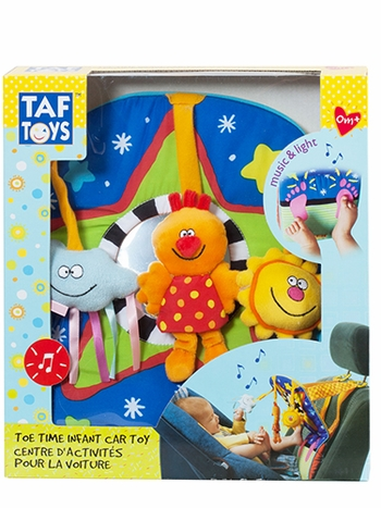 Toe Time Infant Car Toy