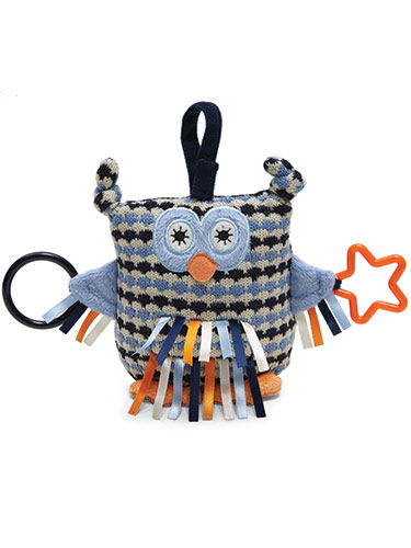 Toot Owl Plush Activity Toy