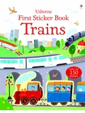Usborne First Sticker Book: Trains