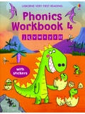 Usborne Very First Reading Phonics Workbook Level 4