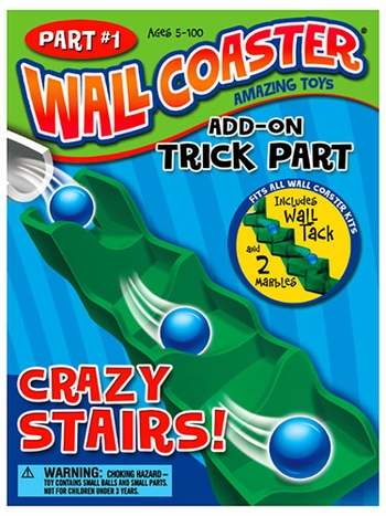 Wall Coaster Crazy Stairs Add-On Trick Part