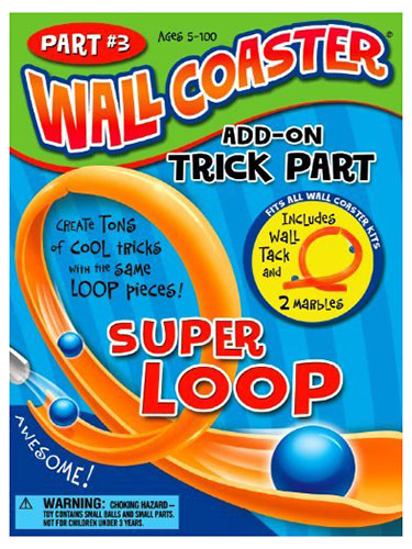 Wall Coaster Super Loop Add-On Trick Part
