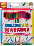 Washable Brush Tip Markers