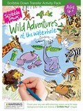 Wild Adventures Scribble Down Transfer Activity Pack