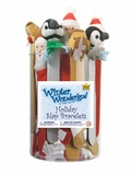 Winter Wonderland Holiday Slap Bracelet