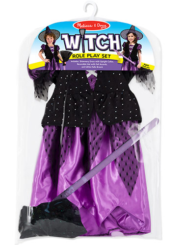 Witch Role Play Costume Set