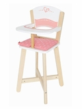 Wooden Baby Doll Highchair
