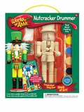 Works of Ahhh Nutcracker Drummer Wood Painting Kit