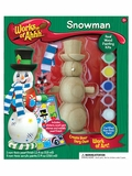 Works of Ahhh Snowman Wood Painting Kit