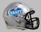2016 NFL Draft Speed Riddell Mini Football Helmet