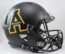 Appalachian State Riddell NCAA Full Size Deluxe Replica Speed Football Helmet