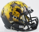 Arizona State Sun Devils Fire Flame Speed Revolution Riddell Mini Football Helmet